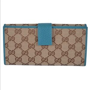 Gucci Guccissima continental w/ coin pocket wallet